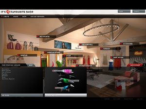 MyFaveShop interactive demo and video player